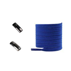 NEW 1Pair Magnetic Shoelaces Elastic No Tie Shoe Laces Kids Adult Flat Sneakers Shoelace Metal Quick Lock Laces Strings