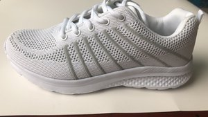 Spring and summer super light flying woven casual shoes mesh soft bottom socks shoes