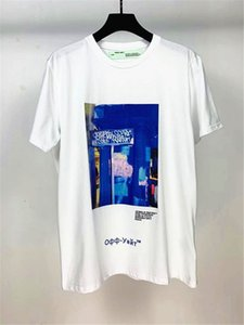 20% OFF Top Quality Brand Designer Clothing Men Women White T-Shirt Print Tees Short Sleeve 2055