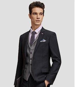 Classic Notch Lapel tuxedos groom wedding men suits mens wedding suits tuxedo costumes de pour hommes men(Jacket+Pants+Tie+Vest) W109