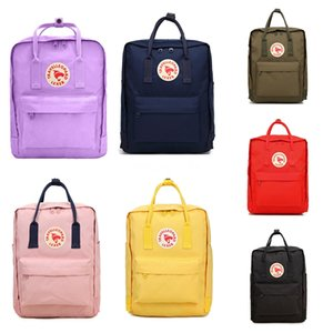 Camouflage Style Fjallraven Kanken Classic Outdoor Backpacks Lightweight Canvas Bags Popular Sports Bags Free Shipping #QA601