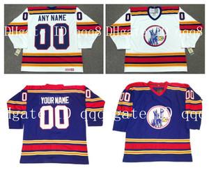 Benutzerdefinierte VINTAGE KANSAS CITY SCOUTS Trikots NEW ENGLAND WHALERS Personalisierung Eishockey Trikots Genäht Beliebiger Name Nummer Größe S-XXXXL