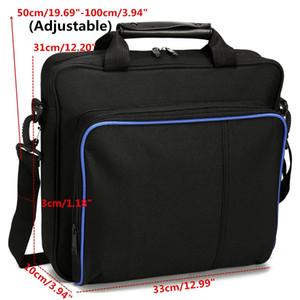 Magro Jogo Sytem Bolsa Para PS4 / PS4 Pro tamanho original para PlayStation 4 Console Proteger Shoulder Carry Bag bolsa de lona Caso