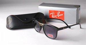 2019 New Arrival Women Classic Design Rimless best-selling Sunglasses Men Metal Frame Buffalo Horn Sun Glasses with box