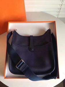 여성의 숙녀 클러치 지갑 클래식 에블린 송아지 가죽 H 토고 가죽 최고급 디자이너 핸드백 중공 메신저 어깨 가방