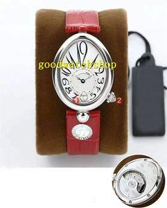 GB Top Reina de Nápoles 8918BR Mujer Reloj Relojes mujer Cal.537 / 3 mecánico automático de la madre-de-perla Esfera de cristal de zafiro resistente al agua