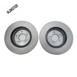(2pcs / set) discos de freno delantero izquierdo y derecho Para el chino SAIC Roewe 360 MG GT accesorios de vehiculos de motor de coche 10067751
