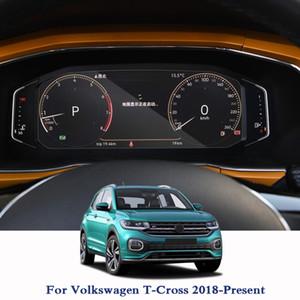 GPS 네비게이션 화면 폴크스바겐 T- 크로스 2018 2019 대 한 철강 유리 보호 필름 대시 보드 디스플레이 화면 필름 자동차 스티커