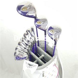club de golf de las nuevas mujeres Maruman FL III + conductor + madera de calle plancha + putter (sin bolsa), la entrega gratuita con la cabeza del putter madera