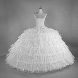 6 Hoops 6 strati sottogonna sottogonna bianco sottoveste sottogonna sottogonna big ruffle accessori da sposa sottogonna in tulle