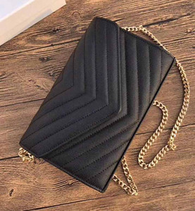 Hot Fashion Luxury Designer handbags Purse V Flap bag chain Shoulder bag Caviar High Quality Genuine Leather Quilted Tote bag clutch handbag