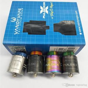 Neueste VandyVape Pulse X BF RDA Clone Austauschbare Dripping Atomizers Vape Vapor Vertikal Bauen Deck für 510 Themen-Box Mods 1