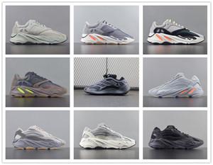 2019 bleu carbone 700 Aimant réfléchissant Inertie tephra mauve statique solide gris Kanye West chaussures de course hommes chaussures concepteur femmes chaussures de sport