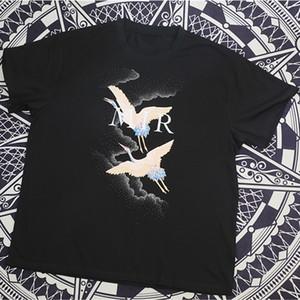 magliette degli animali Stampa estate famoso Mens Sylist maglietta Streetwear Uomo Donna Moda manica corta Tees formato S-XXL