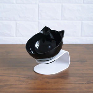Non-slip Double Cat Bowl Dog Bowl With Raised Stand Pet Supplies Cat Water Bowl For Cat Food Bowls For Dog Feeder Pet Products