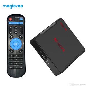 Magicsee N5 NOVA 4GB 64GB RK3318 Quad-Core Android 9.0 Tv Box 2.4G 5G Wifi BT4.0 Smart Set Top Box 4K Video Media Player