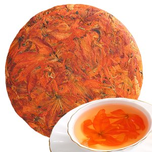 Hot 200g vendas chinês Herbal Especialidade Tea Lily Flower Bolo New Perfumado Chá Cuidados Flores Saúde Tea Top-Grade Saudável Green Food