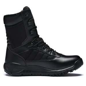 Brand Men's Boots Military boot Combat Mens Chukka Ankle Bot Tactical Big Size Army Bot Male Shoes Safety Motocycle Boots B31005