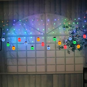BRELONG LED Christmas Light String with 15LED Indoor and Outdoor Christmas Decoration Lights EU US 1 pc