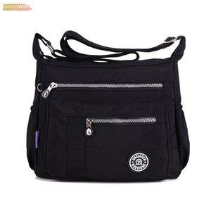 Nylon Ladies Tote Shoulder Bag Handbag Solid Waterproof Tote Messenger Bag Women Satchels Designer Top Handle Crossbody Bags