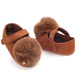 Newborn Baby Girls Shoes Baby Moccasins Soft Moccs Shoes Toddler Infant First Walkers Sweet Ball