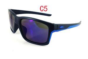 Очки оптом ЛЕТО велоспорт спортивная мода солнцезащитные очки женщины мужчины отражающее покрытие Beach Biking Style 8 цветов Good MOQ = 10шт