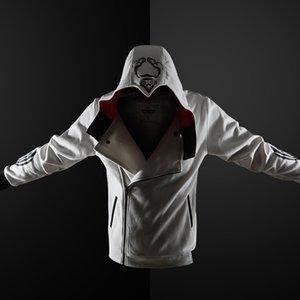 ZOGAA Men 2019 New Custom Assassin's Creed Jacket Men's Thick Long Sleeves Hooded Sweatshirt Male Gothic Print Jacket S-5XL Y200601