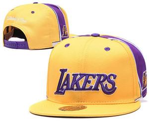2020 Los Angeles Kappe laker 23 James Basketball Baseball Hysteresen All Team-Verschluss-zurück Hüte Damen Herren 76 Cap strapbac Günstige Snapbacks Hut