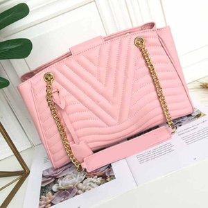 M51497 дизайнерские сумки из натуральной кожи цепной ремень женская дизайнерская сумка модные сумки кошельки сумка L цветочный узор сумки
