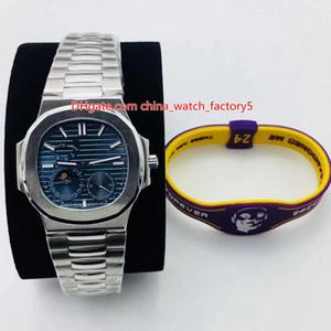 8 стиль лучшее качество часы 40,5 мм Nautilus 5722G-001 запас хода CAL.240 PS IRM C L механические прозрачные автоматические мужские мужские часы