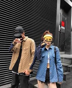 2020 Automne hiver Denim Casual Jacket Hommes Mode Slim Outwear Manteau Blousons à capuche Lavés Do The Old Cowboy Vêtements Homme Tops