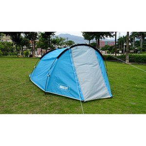 Camping Tourist Tent 2 Person Ultralight Professionelle Backpacking Reise-Party wasserdichtes Zelt Outdoor-Camping-Zelte Wandern