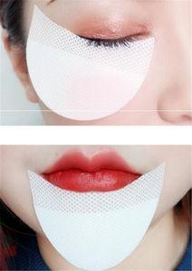 Nueva Salud 100 unidades de sombra de ojos Escudos Bajo Parches para los ojos desechable sombra de ojos del maquillaje protector etiquetas de ratón Ojos Maquillaje Aplicación