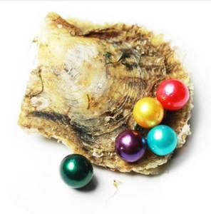 Akoya Oyster con Edison Perle girone unico perla di desiderio 11-13mm Pearl colori misti di mare Oyster 10 PCS mare Oyster