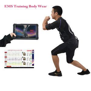 신기술 전기 근육 자극기 엠스 / EMS 훈련 정장 / 무선 EMS 피트니스 머신