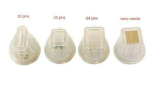 Новое поступление!!!! Одноразовый картридж Microneedling Fractional Rf Needle Позолоченный Изолированная микроигла 10pins 25pins 64pins RF Nano Tips