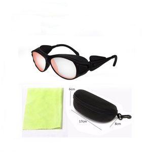 السلامة الوقائية 808nm الليزر الليزر نظارات المهنية نظارات حماية العين 780nm-850nm وOD6 + ليزر آلات التجميل بالليزر 808nm الليزر