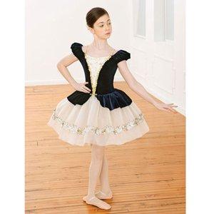 어른 또는 키즈 발레 다크 블루 투투 드레스, 어른 아이들 Little Swan Ballet 댄스 의상 재고 있음 배송료