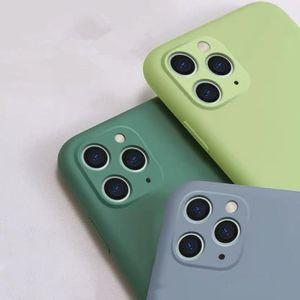 iPhone11 Cep Telefonu Kılıf 11PRO Sıvı Silikon Max için uygundur Marka Cep Telefonu Kılıfı her şey dahil xs / xr Koruyucu Kapağı Anti-fall