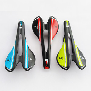 Zniino Mountain Bike 3K Full Carbon Fiber Saddle Carbon Bicycle Saddle Cushion Sale anteriore SEAT PARTI MTB MTB Matt / Gloss