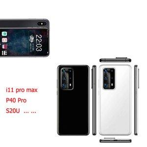Déverrouillé GooPhone P40 Pro 11 Pro Max 20U XS Max 6.5inch 1 Go 16 Go Afficher 512 Go 5G WCDMA GPS Bluetooth Android Smart Phone