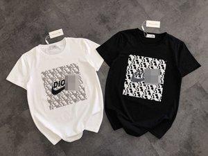 20ss HOT DR Mix NK Tees Designer T Shirt Mens Brand T Shirt Women Pullover Short Sleeve Fashion Streetwear Designer Blouse Hoodie 20042406L