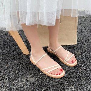 Fairy2019 Джокер Студент Краткий Fasciola Group Combine Римские Песчаные Пляжные Сандалии Fairy Wind Tender Shoe