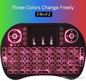 Hot sale Mini Wireless Keyboard Rii i8 2.4GHz Air Mouse Keyboard Remote Control Touchpad For Android Box TV 3D Game Tablet Pc