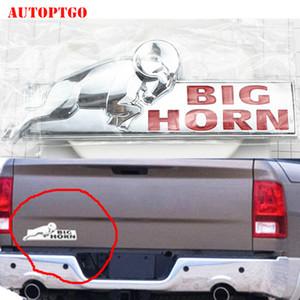 Araç Gövde Yan Arka Kuyruk 3D Komik BIG HORN Bighorn Amblemi Rozet Çıkartması Tabela Şekillendirme Etiket Logolar Sticker
