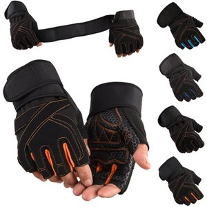 Fashion Men's Tactical Gloves Winter Gym Gloves Fitness Gloves Unisex half Finger Outdoor Sports Mountaineering Fitness Mittens