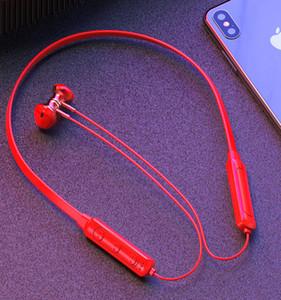 Q7 Neckband della cuffia Bluetooth 4.2 auricolare collo d'attaccatura della cuffia senza fili auricolari Sport
