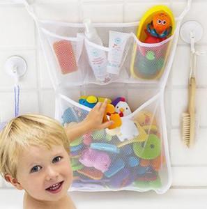 brinquedos de banho Super Capacidade infantil Armazenamento Toy Bag Crianças Banho de banheira de armazenamento Toy Bag malha Organizer Net Titular Início
