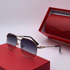 The new luxury CT0109 2020 neutral fashion design square sunglasses frame suitable for a variety of face hd lens high-quality full set
