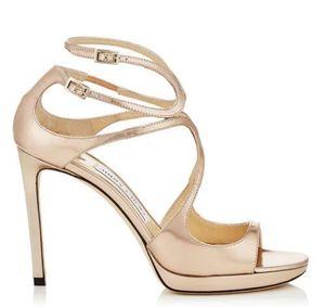 Vendita calda-2019 marchio di moda di lusso designer scarpe da donna scarpe da sposa sposa di lusso tacco alto sandali b9
